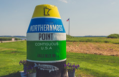 Northernmost Point in the Continguous United States - Angle Inlet, Minnesota (Tony Webster) Tags: americanflag angleinlet conus canada minnesota northwestangle youngsbay border contiguoususa northernmost northernmostpoint unitedstates us