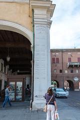River Po flood levels, Ferrara (MikePScott) Tags: arch architecturalfeatures builtenvironment camera emilioromagna featureslandmarks ferrara italia italy nikon28300mmf3556 nikond600 padimeter pilaster emiliaromagna