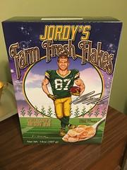 Jordy's Farm Fresh Flakes (MichaelSteeber) Tags: bedroom cereal cornflakes dresser farmfreshflakes foods home jordynelson jordys packers