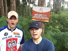 Hati Hati !!!! (Canis lupus alba) Tags: kawah ijen kawahijen indonesia java licin banyuwangi jungle forest hatihati hiking