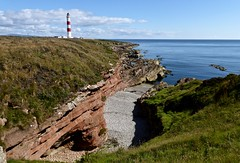 Tarbat Ness Lighthouse (Traigh Mhor) Tags: 2017 july tarbat ness portmahomack robert stevenson lighthouse coast landscape outdoors