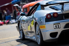 #43 Ferrari 430 Challenge-1 (rickstratman26) Tags: car cars sportscar vintage racing association racecar racecars motorsport motorsports canon midohio mid ohio racetrack garage paddock ferrari 430 challenge