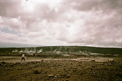 Kilauea ... early 90's (jcc55883) Tags: hawaii bigisland volcano shieldvolcano kilauea kilaueaiki hawaiivolcanoesnationalpark sky clouds sulpher steam film oldfilm 35mm 35mmfilm filmphotography canon canon35mm chainofcraters