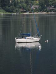 By herself (jamica1) Tags: nelson bc british columbia canada kootenay lake boat