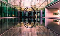 Echo II. (Benny aka WortLichtMaler) Tags: building glass spieglungen glas gebäude architektur architecture reflection reflektion mirroring sony adapter adapted a7ii a7 mark2 mark ii ef 2470f4l canon