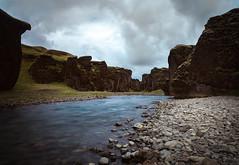 Fjaðrárgljúfur II (Jack Landau) Tags: fjaðrárgljúfur fjadrgljufur iceland canyon river water stream long exposure landscape nature jack landau