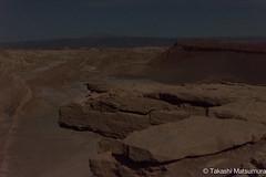 Valle de la luna (takashi_matsumura) Tags: sanpedrodeatacama regióndeantofagasta chile full moon valle de la luna ngc nikon d5300 landscape panorama nightscape afs dx nikkor 35mm f18g
