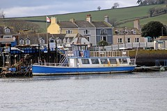 """little ship"" - Exe River Cruse, Exmouth, Devon - Feb 2017 (Dis da fi we (was Hickatee)) Tags: myqueen gondolier queen littleship exe river cruse exmouth devon dunkirk evacuation"