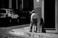 (c h r i s t o s) Tags: sanmigueldeallende mexico blackandwhite street bw shadow walking stick guanajuato