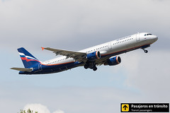 Airbus A321 Aeroflot Tsiolkosvky VQ-BEG (Ana & Juan) Tags: airplane airplanes aircraft airport aviation aviones airbus aviación a321 takeoff departure madrid mad madridbarajas barajas lemd spotting spotters spotter planes canon closeup