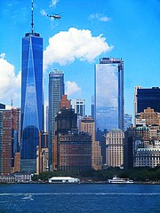 Manhattan vertical (DannyAbe) Tags: manhattan lowermanhattan newyorkcity oneworldtradecenter freedomtower skyscrapers