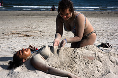 Sun, Sand and Coeds (minus6 (tuan)) Tags: minus6 nikon d810 85mm galveston texas mts
