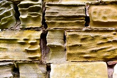 Cinder Toffee Stone - Happy Textural Tuesday!! (violetchicken977) Tags: texturaltuesday weathered sandstone