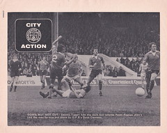 Manchester City vs Chelsea - 1974 - Page 16 (The Sky Strikers) Tags: manchester city chelsea maine road football league first division match magazine 10p