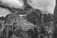 Cima Margherita & Tosa (albertobregani) Tags: dolomiti dolomites dolomitidibrenta montagna mountains madonnadicampiglio montagne monocromo foveon fineartprint beauty unesco unescoheritage nuvola nuvole alpinismo alpinism campiglio campanile basso campanilebasso sigmaphoto sigma dp2quattro xf3