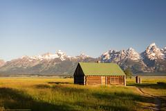 Mormom Row (Jeff_B.) Tags: wyoming yellowstone jackson jacksonhole grandteton nationalpark america usa mormonrow historic antelopeflats