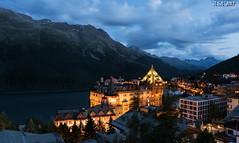 "St. Moritz (""A.S.A."") Tags: stmoritz switzerland engadine cantonofgraubunden europe nightshot mountains alps lake sonya7rmkii sony2470f28gm longexposure slow shutter asa2017"