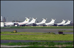 RA-76842 - Oostende Bruges (OST) 13.05.2001 (Jakob_DK) Tags: 2001 ost ebos oostende ostend–brugesinternationalairport ostendairport asn airstan ilyushin ilyushin76 ilyushin76td il76 il76td candid cargo