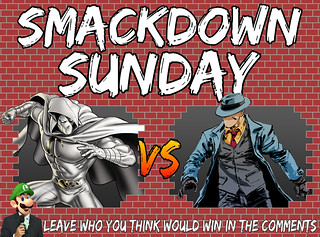 Smackdown Sunday- Moon Knight VS The Question
