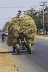 Hayride (Keith Kelly) Tags: anlongklong asia cambodge cambodia hayride kh kampuchea keithkelly krakor pursatprovince southeastasia country countryside drive farmland hay keithakelly ride road rural sitting tractor pouthisat