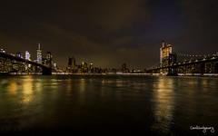 Calm before the storm (Carol Montgomery8345) Tags: cityscape newyorkcity newyork brooklyn bridge brooklynpark water waterfront manhattan