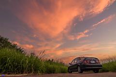 IMG_7804 (Rj Wu) Tags: 台灣 台中 夕陽 黃昏 日落 火燒雲 草原 風景 自然 色溫 霞光 天空 雲 草 晨昏
