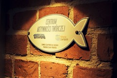 Gallery banner (navarrodave80) Tags: wall brick old banner antique city noperson outdoor nikkor 50mm