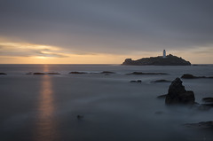Hope (MarkWaidson) Tags: godrevy sunsetseries sea lighthouse le longexposure hitech 10stop