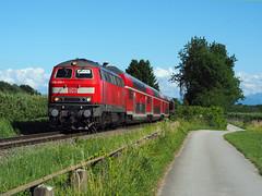 DB 218 409 (jvr440) Tags: trein train spoorwegen railway railroad db deutsche bahn lindau friedrichshafen br218 v160 baureihe 218