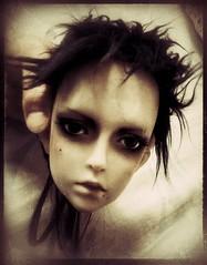 Cracks (tarengil) Tags: bjd abjd asian doll nyx limos boy grunge black hair ns resin
