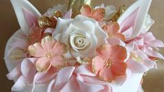 Unicorn Cake Detail (Julia Hardy Cakes) Tags: unicorncake juliahardycakes flowers roses gumpaste fondant birthday cake girl pretty