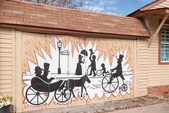 Hamilton Mural (jwcjr) Tags: mural hamiltongamural door hamiltonga hamiltongeorgia smalltown smalltownga pentax
