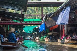 marche fottant damnoen saduak - thailande 37