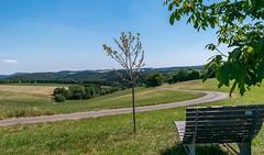nice place to take a break (Mariannevanderwesten) Tags: view uitzicht vulkaneifel germany duitsland nikon landscape landschap nature natuur