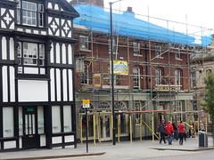 The Berkeley, Wigan (deltrems) Tags: pub bar inn tavern hotel hostelry house restaurant wigan greater manchester berkeley scaffold scaffolding