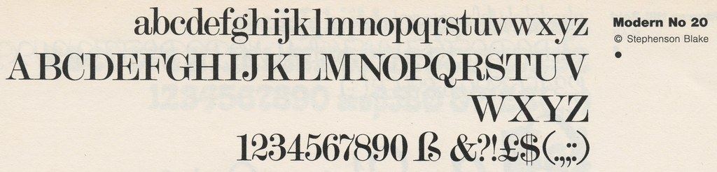 The World's Best Photos of type:foundry=letraset - Flickr