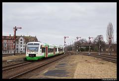 Erfurter Bahn VT304, Zeitz 18-02-2017 (Henk Zwoferink) Tags: zeitz sachsenanhalt duitsland henk zwoferink stadler bombardier deutsche waggonbau ag