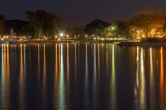 reflejos paralelos (Luis_Garriga) Tags: lago luces reflejos paralelos carlospaz sanroque cordoba argentina canon g1x longexposure luminosity night darkness