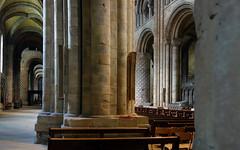 Durham Cathedral, pier