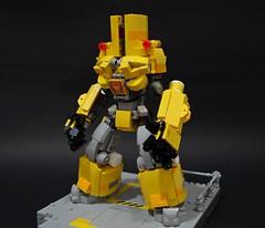chernonxyellow02 (chubbybots) Tags: lego mech pacificrim