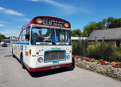 TDL 564K Mendip Mule Bristol RELL ECW Freshwater (focus- transport) Tags: isle wight railway tdl 564k mendip mule southern vectis svoc bristol rell ecw london underground 1938 stock ng 1109 reo safety bus herbert taylor brading ryde freshwater culver down luccombe shanklin
