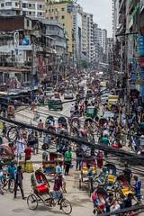 New Market (Arnob Antor) Tags: haka cityscapes city dhakacity market new rickshaw architecture bangladesh people lifestyle