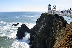 Point Bonita (Seoulwoman) Tags: point bonita sanfrancisco bay ocean bridge light house