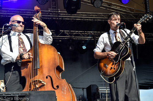 The Devil's cut combo at vicar's picnic 2017