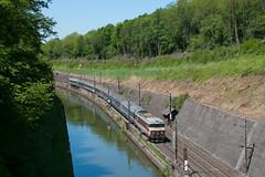 L'IC 1001 à Arzviller (Trains-En-Voyage) Tags: ligne1 arzviller sncf sncfbb15000 corail canal lorraine