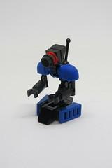 Lil' Bot (Johann Dakitsch) Tags: lego moc robot droid mech scifi tablescrap quick toy