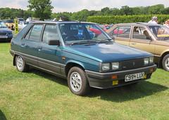 1986 Renault 11 1.7 TXE Electronic (Spottedlaurel) Tags: renault 11 c994lux