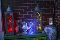 DIY Boho Decor Lanter Pot (blackunigryphon) Tags: boho bohodecor decor bohemian bohostyle gypset gypsetter whimsy whimsical dslr canon diy artproject instillationart artsandcrafts lantern lanterns ambient teapot pot sculpture