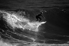 Don't make me over (.KiLTRo.) Tags: cobquecura regióndelbíobío chile kiltro monochrome beach water monocromático agua playa surf surfing surfer girl buchupureo extreme wave sport rider