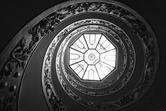 Vortex (C-Smooth) Tags: vortex scala bw design spirale art architecture momo monocrome museo cittàdelvaticano italy